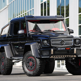 Mercedes-Benz - G63 AMG B63S-700 6x6 by Brabus