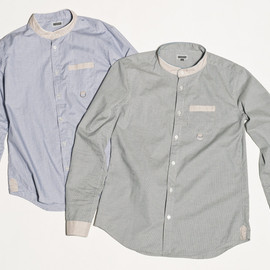 CYDERHOUSE - STANDING COLLAR SHIRTS