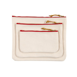 Archival Clothing - Zip Pouch - Natural Duck