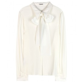 miu miu - BUTTON-DOWN BLOUSE