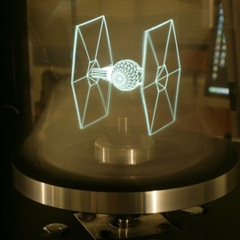 New 3D Holographic Technology Brings Tie Fighters To Life #technology