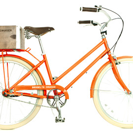 Brooklyn Cruiser - Willow 3 Step-Through Three Speed Bicycle