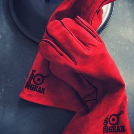 Lodge - RED LEATHER GLOVE
