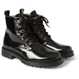 AMI - 2013 A/W Glazed-Leather Boots