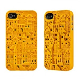 ohneed - Designer Castle Embossing Case for iPhone 4/4S