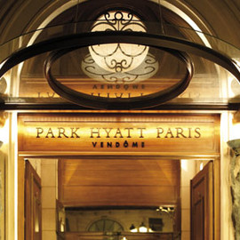 Paris, France - Park Hyatt Paris Vendôme