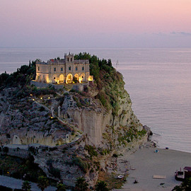 Tropea, Italy - 'Church Santa Maria del Isola'