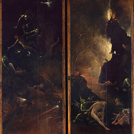Hieronymus Bosch - 'Visions of the Hereafter Hell',