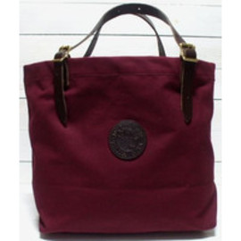 DULUTH PACK  - Leather Canvas Tote Bag