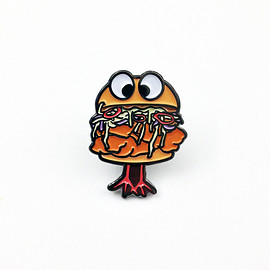 HungryEyesNY - FRLA FRIED CHICKEN SANDWICH PIN