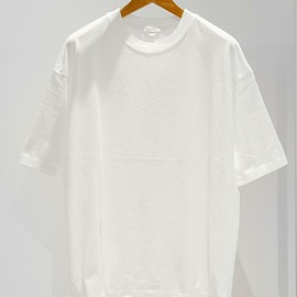 BEAUTY&YOUTH UNITED ARROWS - ワイド クルーネック ハーフスリーブ MADE IN JAPAN カットソー