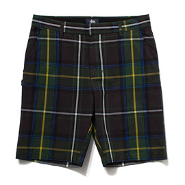 STUSSY - Plaid Gramps Short
