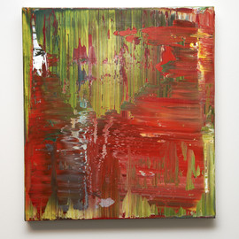 "Gerhard Richter - Abstract Painting ""890-3"" (2004)"
