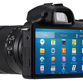 Samsung - Galaxy Camera NX