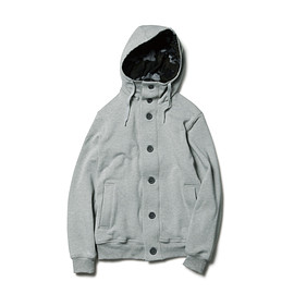 SOPHNET. - THERMASTAT FRONT BUTTON SWEAT PARKA