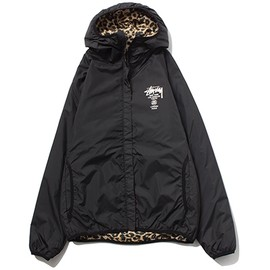 Stussy - Rev. Pattern Hood Jacket Black/Leopard