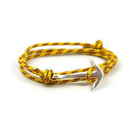 MIANSAI - Silver Anchor on Yellow Rope
