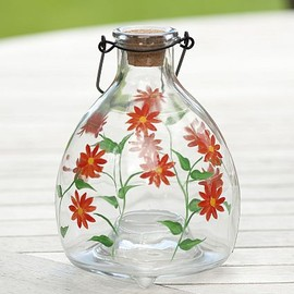 Vintage Glass Insect Catcher Mexcan Daisy