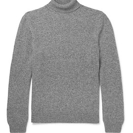 A.P.C. - Camel Hair Rollneck Sweater