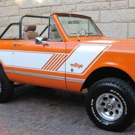 International - 1976 Scout II Rallye