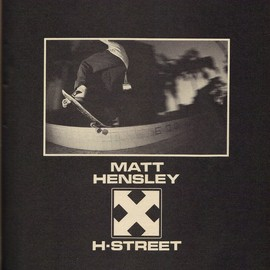 H-STREET - MATT HENSLEY