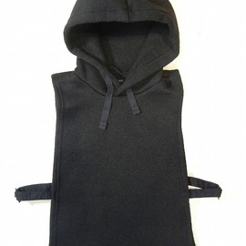 Engineered Garments - Hooded Interliner - Sweater Knit Black