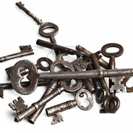 Vintage Keys - Antique Keys