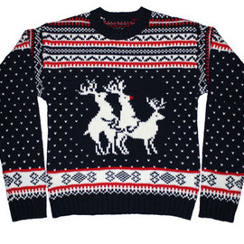 Skedouche - Reindeer Threesome Sweater