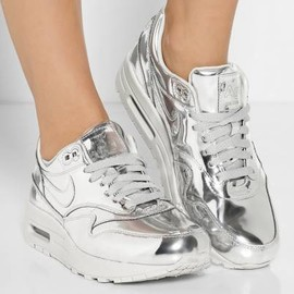 Nike - limited edition_Air Max silver