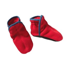 Patagonia - Patagonia Baby Synchilla\u00AE Booties - Red Delicious w/Glass Blue RDGB