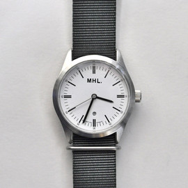 MHL. - MHL. | MILITARY WATCH | WHITE x GREY