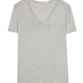 Rayon Pocket No Sleeve Tshirt