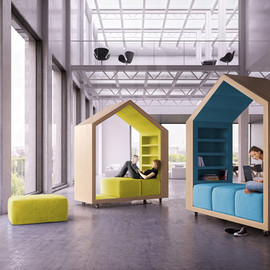 malcew - tree houses in modular break out furniture