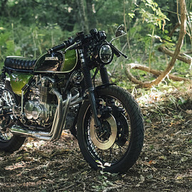 HONDA - CB500 Four cafe racer