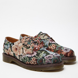 Dr.Martens - Floral Print 1461 3-Eye Shoes
