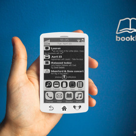 Fabrice Dubuy - Booklet - E-Ink smartphone for readers