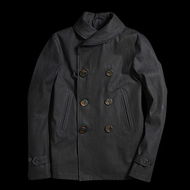 UNIONMADE - Indigo Golden Bear Shawl Collar Jacket