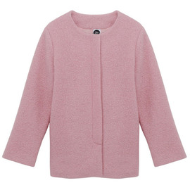 the white pepper - Boucle Jacket Pink