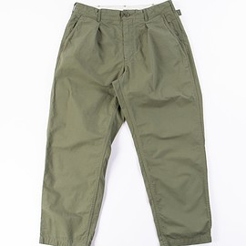 Engineered Garments - Olive Cotton Ripstop Ground Pant