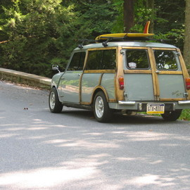 MINI - Countryman Woodie Wagon