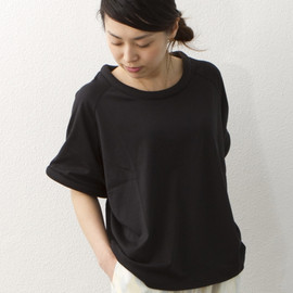 STINE GOYA - NOTE T-SHIRT/ブラック