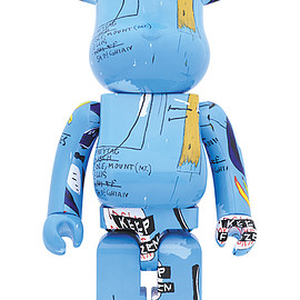 MEDICOM TOY - BE@RBRICK JEAN-MICHEL BASQUIAT #4 1000%