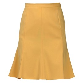 MOSCHINO CHEAP & CHIC - Knee length skirt yellow Mid Rise(MOSCHINO CHEAP & CHIC)