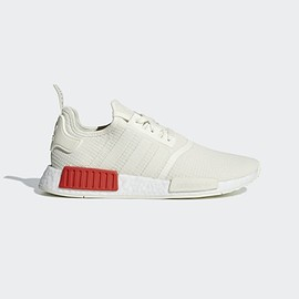 adidas originals - NMD_R1 Shoes Off White / Off White / Lush Red B37619