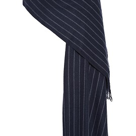 Isabel Marant - Arly striped wool, cashmere and silk-blend scarf