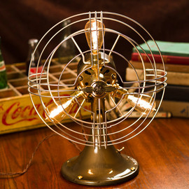 General Electric - Vintage Industrial Fan Lamp