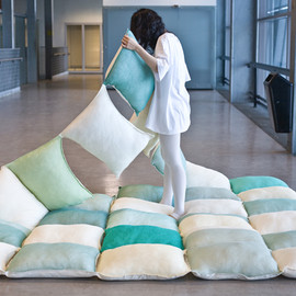 Joon & Jung - Pillow Blanket