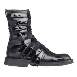 Dior Homme - Patent Strap Boots