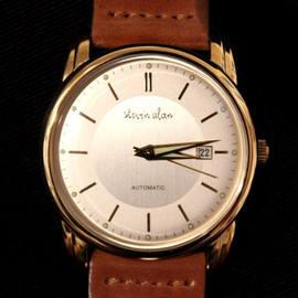 Steven Alan - 21 jewel automatic watch