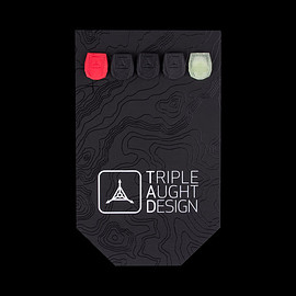 Triple Aught Design - Zipper Plug - Red/GITD/Black